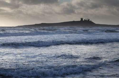 Castle Northumbria Northumberland Coast