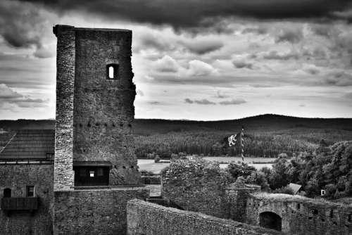 Castle Castle Lipnice Lipnice Heaven Clouds