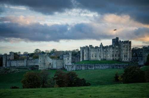 Castle Harry Potter Hogwarts Alnwick Northumberland