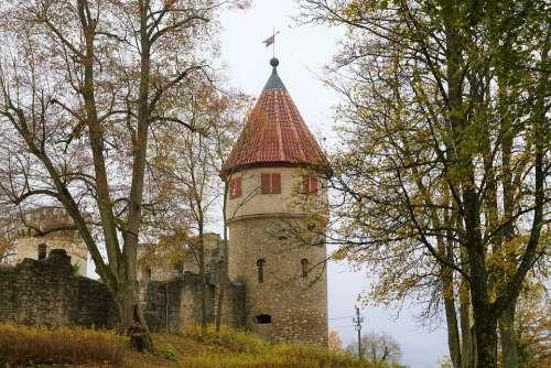 Castle Monument Construction Architecture