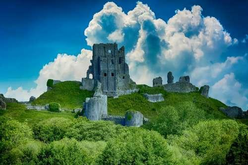 Castle Architecture Ruin Ancient History
