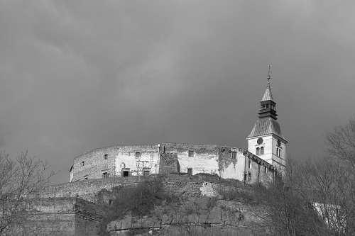 Castle Güssing Gloomy Mood
