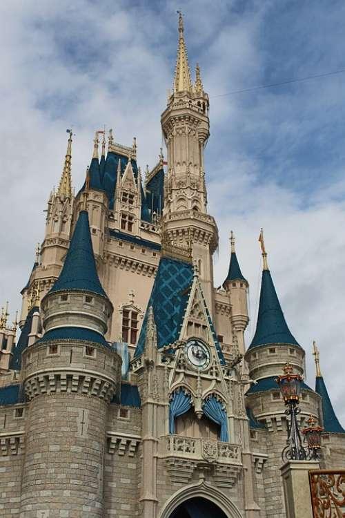 Castle Magic Kingdom Fantasy Princess Disney