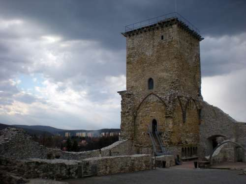 Castle Castle Of Diósgyőr Miskolc Hungary Monument