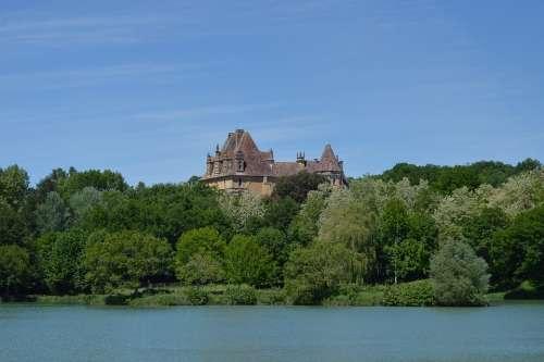 Castle Of Lanquais Dordogne Périgord Castle