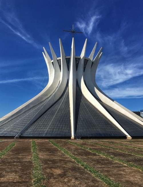 Cathedral The Cathedral Of Brasilia Brasilia Brazil