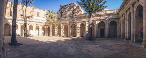 Cathedral Almeria Architecture Medieval Spain