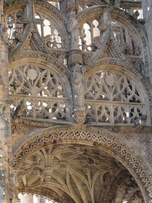 Cathedral France Albi Tarn Church Lace