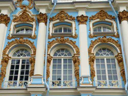 Catherine'S Palace St Petersburg Russia Tourism
