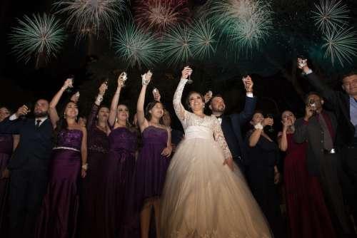 Celebration Toast Wedding