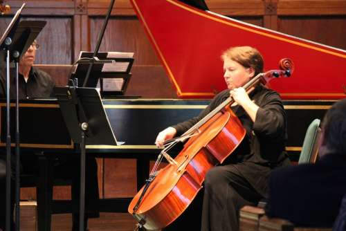 Cello Instrument Music Orchestra Symphony