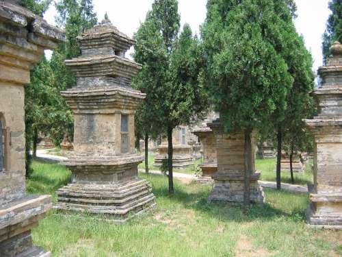 Cemetery Shoalin China