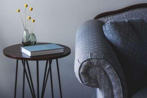 Chair Furniture Indoors Interior Design Room Sofa
