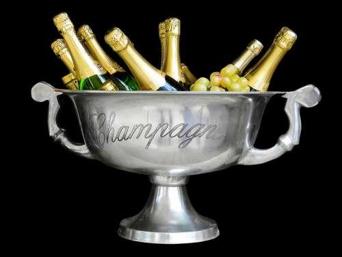 Champagne Drink Sparkling Wine Bottles