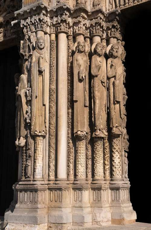 Chartres Cathedral France Gothic Church Catholic