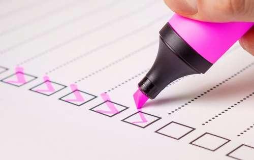 Checklist Check List Marker Checked Pen Mark