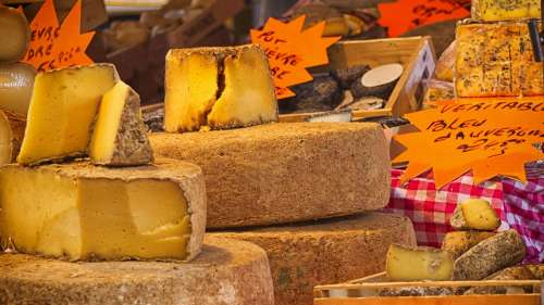 Cheese Kitchen Food Product Power Market France