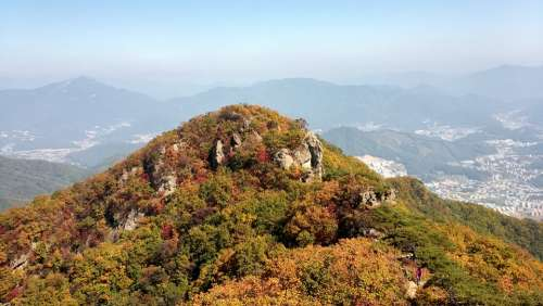 Cheonmasan Climbing Autumn Travel