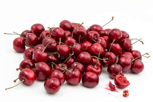 Cherry Fruit Berry Juicy Sweet Ripe Healthy