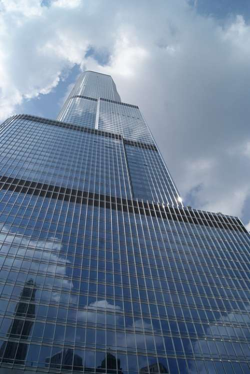 Chicago City Architecture Urban Downtown Cityscape