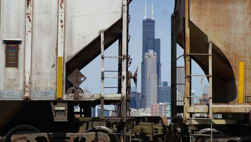 Chicago Skyline Cityscape Skyscraper Willis Tower