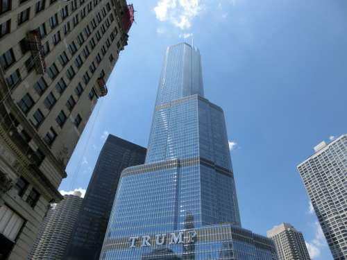 Chicago Trump Usa United States America