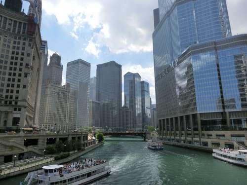 Chicago Usa United States America