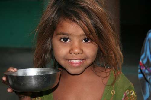 Child Face Rajasthan Smile Look Travel