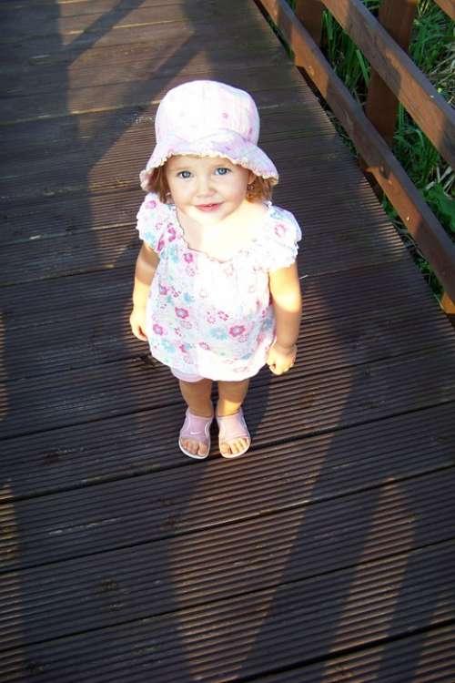 Child The Little Girl Bridge