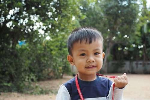 Children Boy Asian Thailand