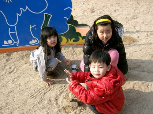Children Oriental Playground