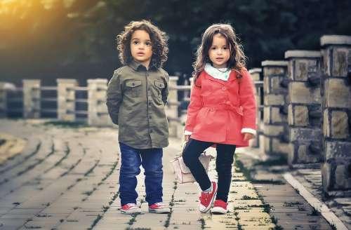 Children Siblings Brother Sister Friends Girl Boy
