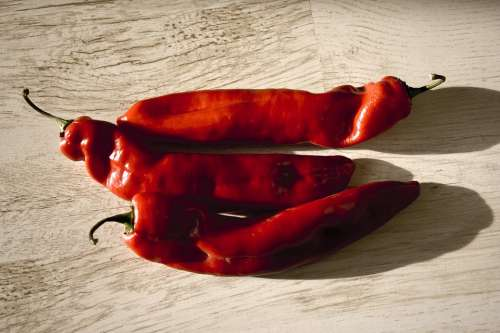 Chili Pepper Vegetable Red Spices Hot