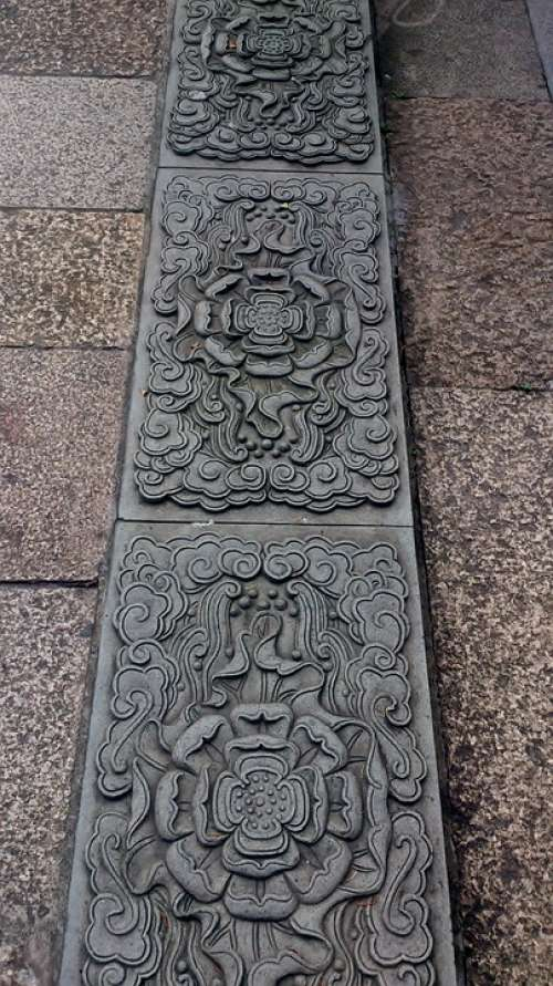 China Ornamental Ancient Chinese Asia Culture