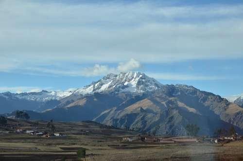 Chinchero Peru Mountain Snow