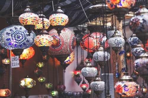 Chinese Japanese Lantern Lights Oriental