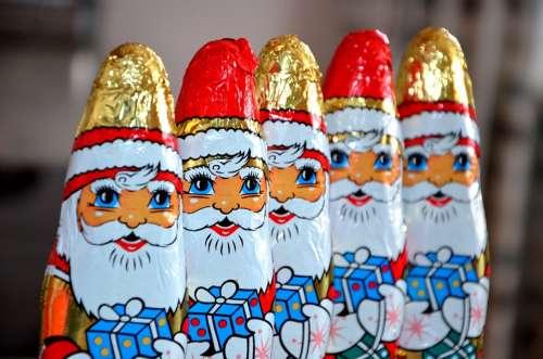 Chocolate Santa Claus Santa Clauses Niko Lice