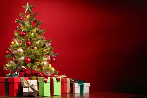 Christmas Christmas Tree Decorate Decoration Gifts
