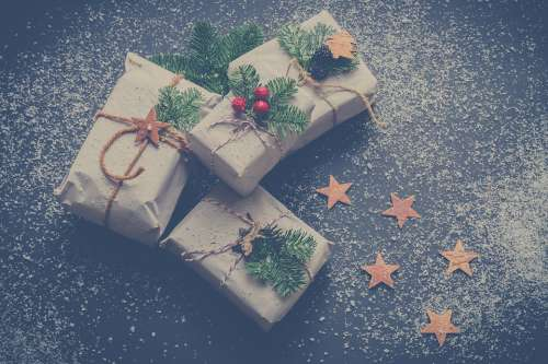 Christmas Presents Gifts Winter December