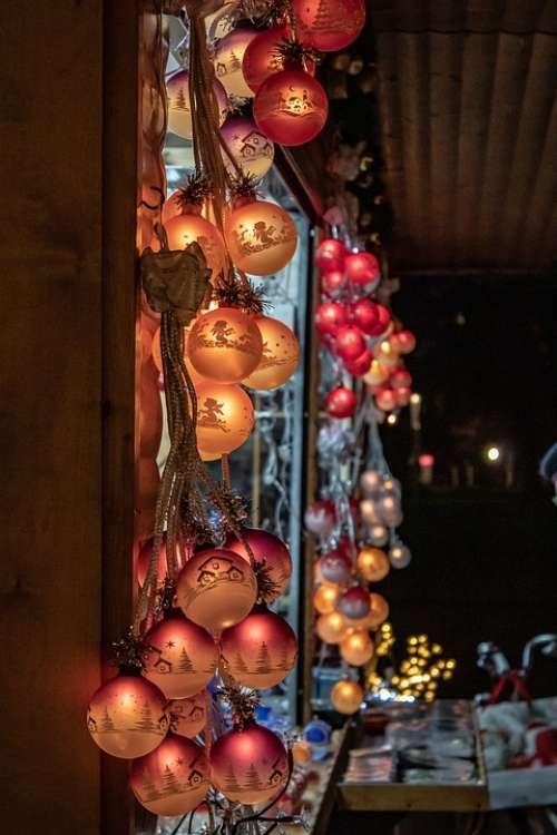 Christmas Christmas Market Christmas Tree
