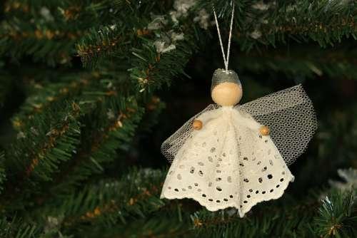 Christmas Christmas Decorations Angel Christmas Card
