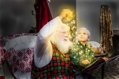 Christmas Storybook Santa