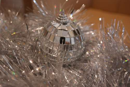 Christmas Ball Decoration Lights