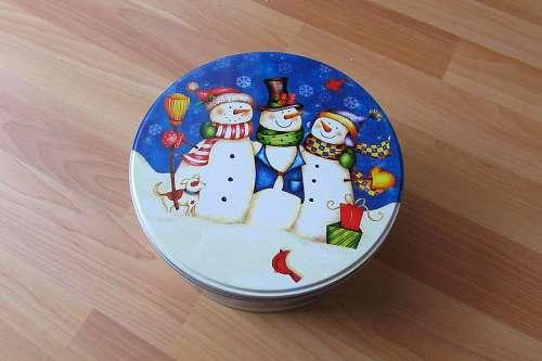 Christmas Box Cookie Jar Christmas Themes
