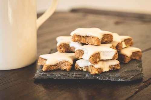 Christmas Cookies Cinnamon Stars Cookies Pastries