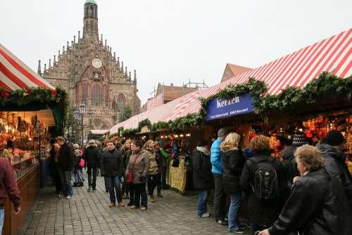 Christmas Market Christkindlesmarkt Nuremberg