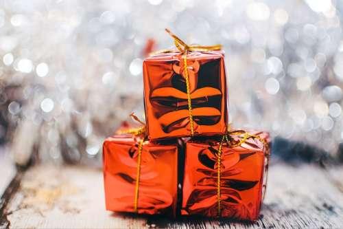 Christmas Present Gifts Presents Shiny Christmas