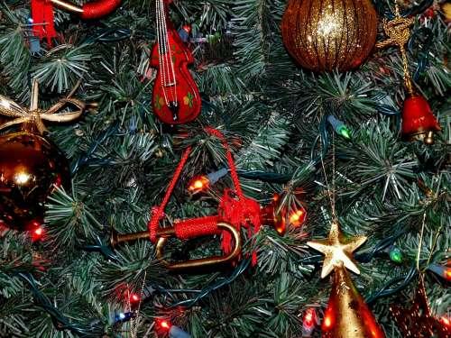 Christmas Tree Holiday Ornaments Tree Christmas