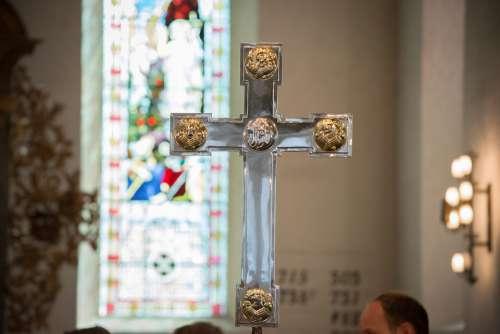 Church Cross Religion Christianity Prayer Catholic