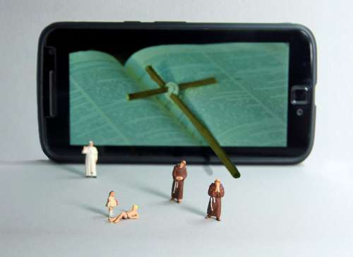 Church Children Miniature Figures Abuse Religion